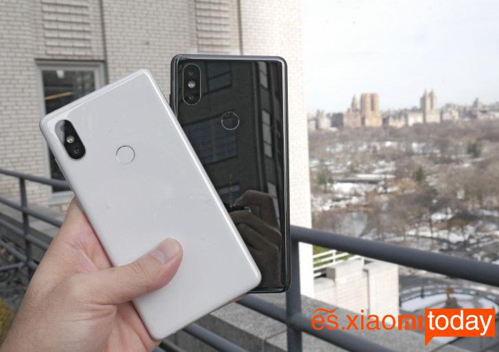 El Xiaomi Mi MIX 2S en la India