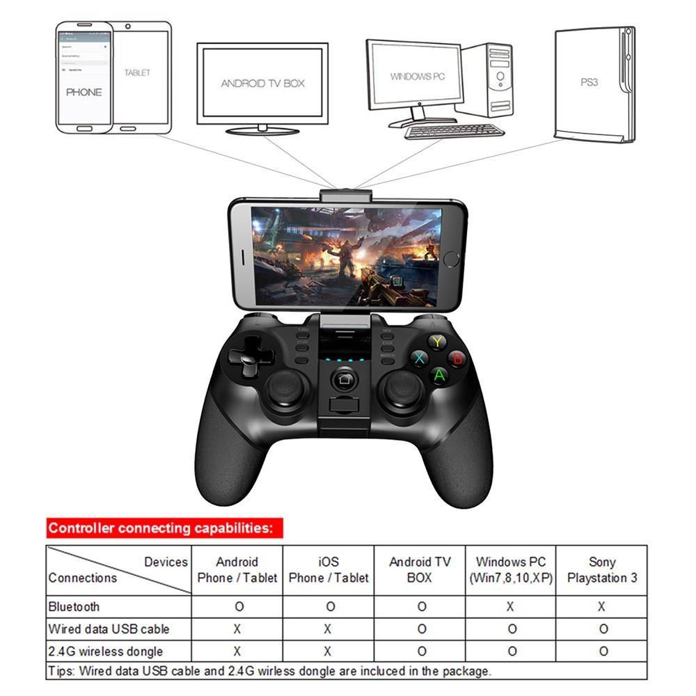 iPega PG-9077 - Compatibilidad y conectividad
