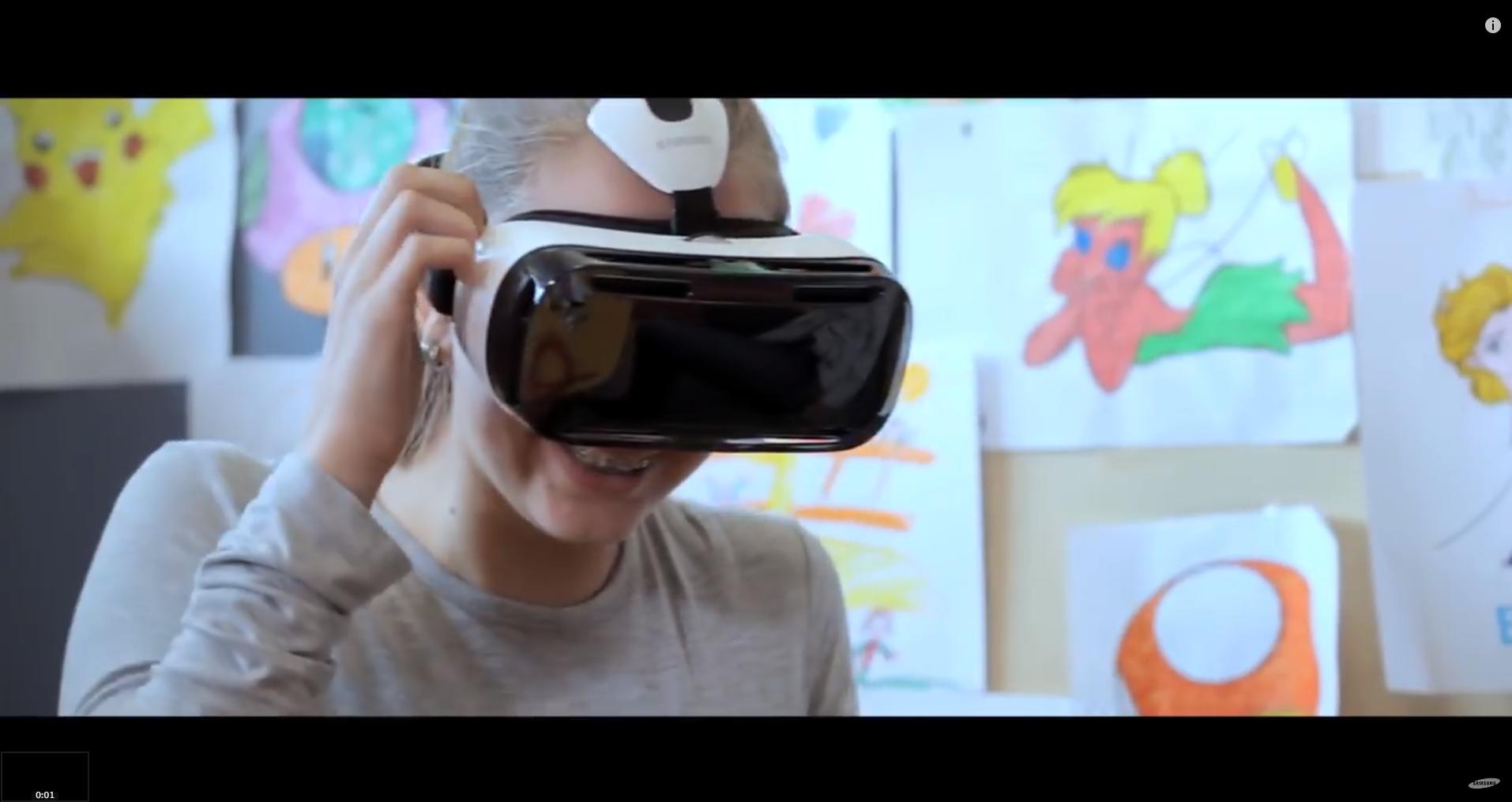Reducción del dolor con la realidad virtual