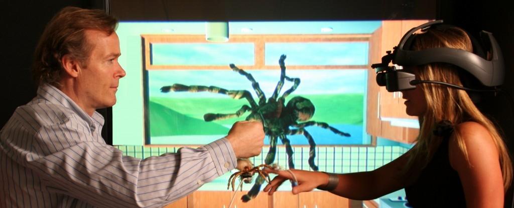 Mejora de fobias con la realidad virtual