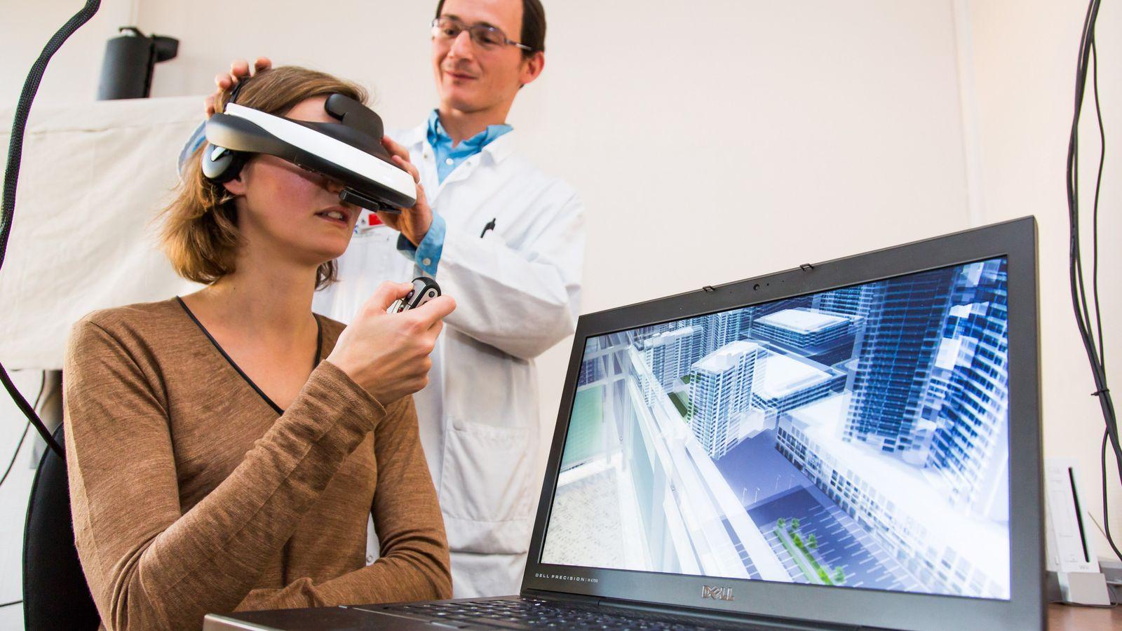 Realidad virtual en la ciencia