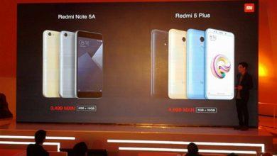 Xiaomi Redmi 5 Plus y el Redmi Note 5A llegarán de manera oficial a México
