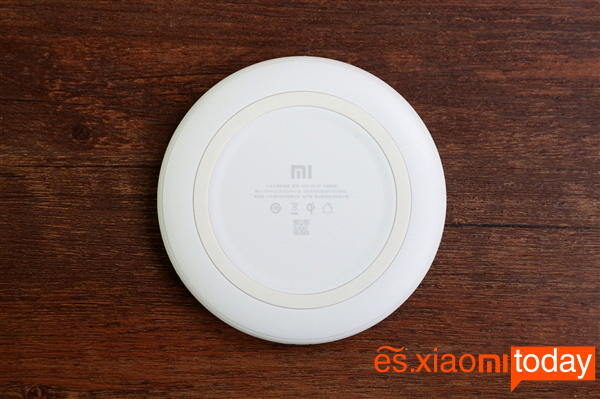 Xiaomi Wireless Charger diseño inferior