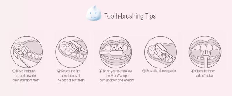 Xiaomi DOCTOR B Children Toothbrush ilustraciones
