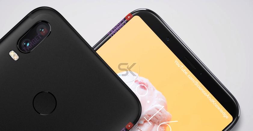 Xiaomi Mi 6X renders