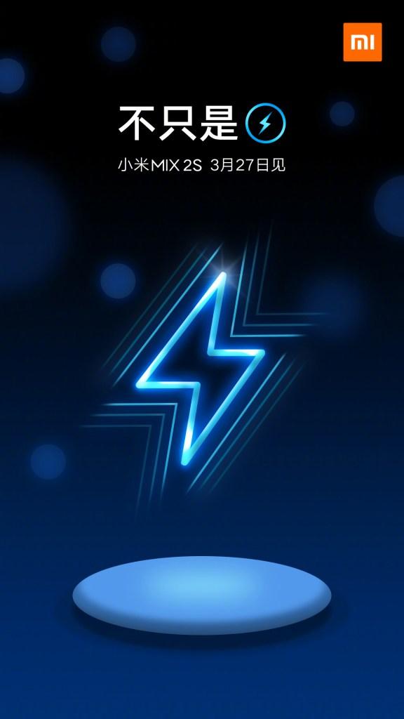 Xiaomi Mi MIX 2S carga inalámbrica