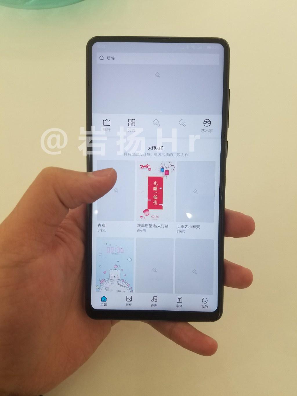 Supuestas características del Xiaomi Mi MIX 2S