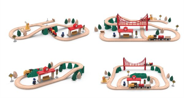 Xiaomi Rabbit Track Building Block/Electric Train