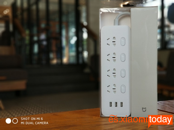 Xiaomi Mijia Power Strip de interruptores independientes - Unboxing
