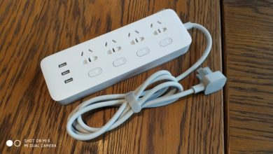 Xiaomi Mi Power Strip Análisis - Interruptores independientes