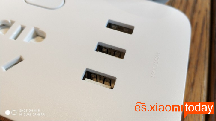 Xiaomi Mijia Power Strip de interruptores independientes - Características