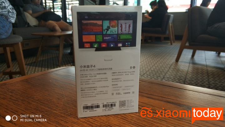 Xiaomi Mi Box 4 Análisis - Unboxing