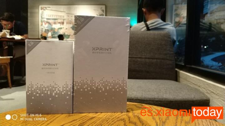 Xiaomi Xprint Photo AR Printer - Paquete
