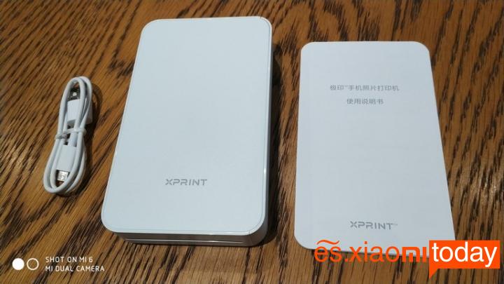 Xiaomi Xprint Photo AR Printer - Especificaciones