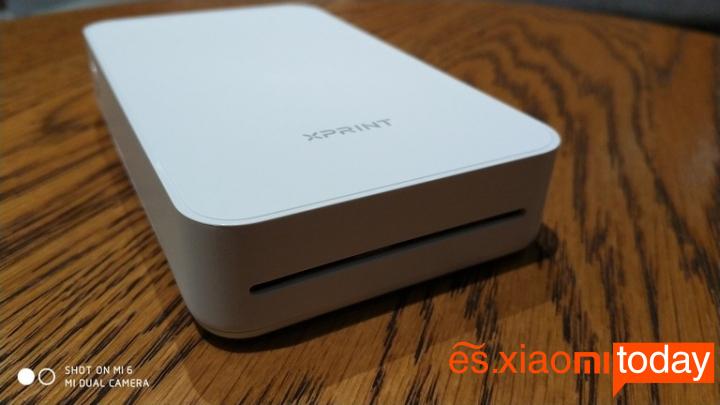 Xiaomi Xprint Photo AR Printer - Impresora portátil con opción de realidad aumentada