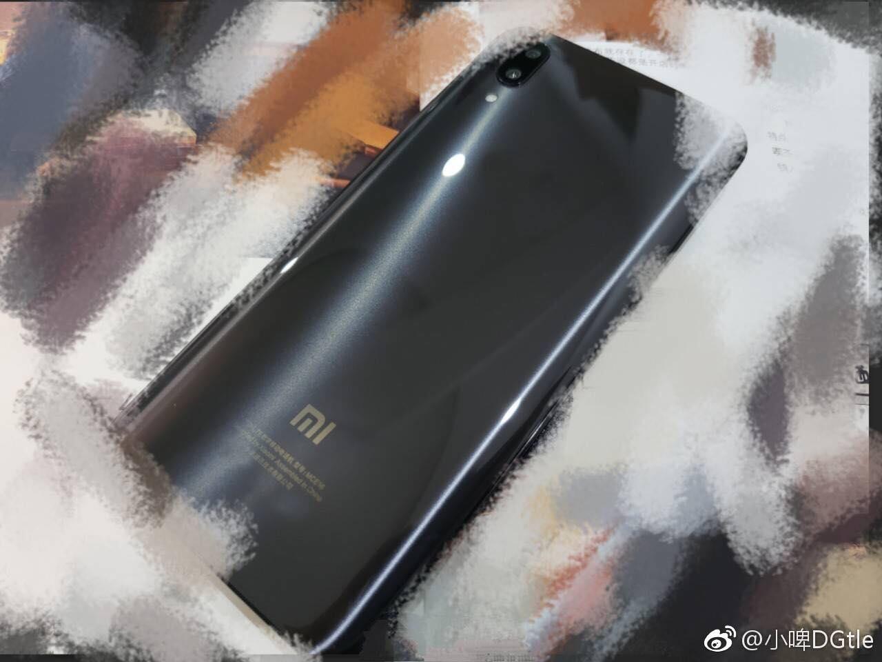 Imagen filtrada del Xiaomi Mi 7 - Posterior