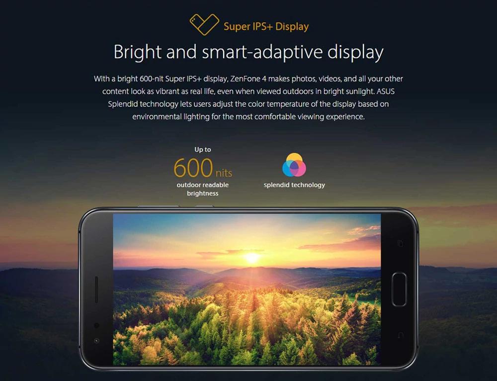 Asus ZENFONE 4 (ZE554KL) pantalla