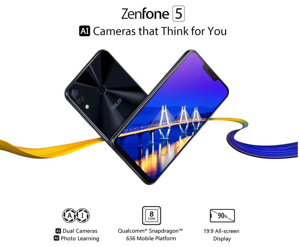Asus ZenFone 5 - Smartphone con soporte de IA