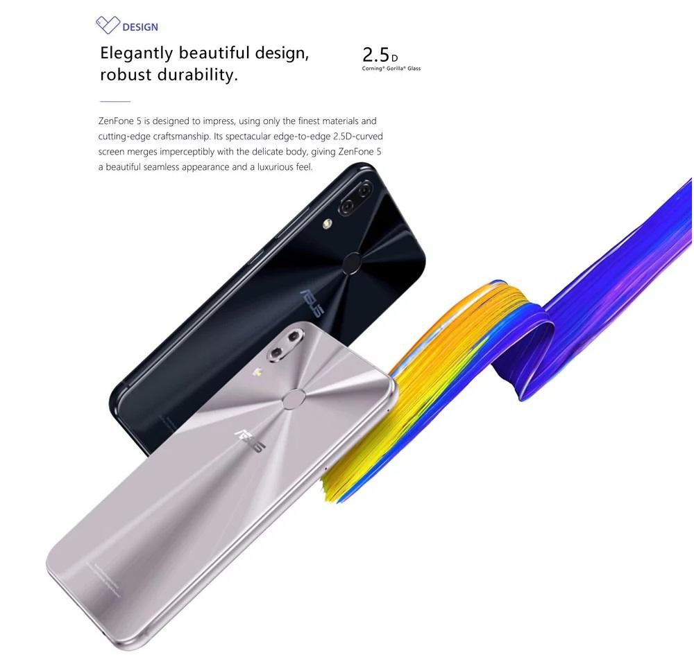 Asus ZenFone 5 - Diseño