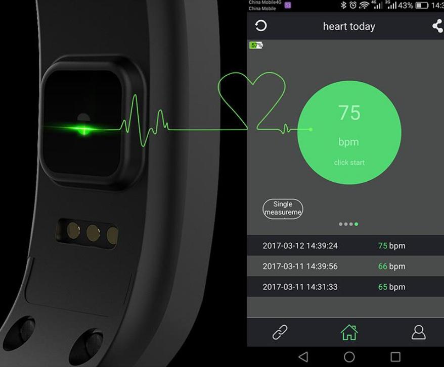 C9 Smart Wristband Sensor