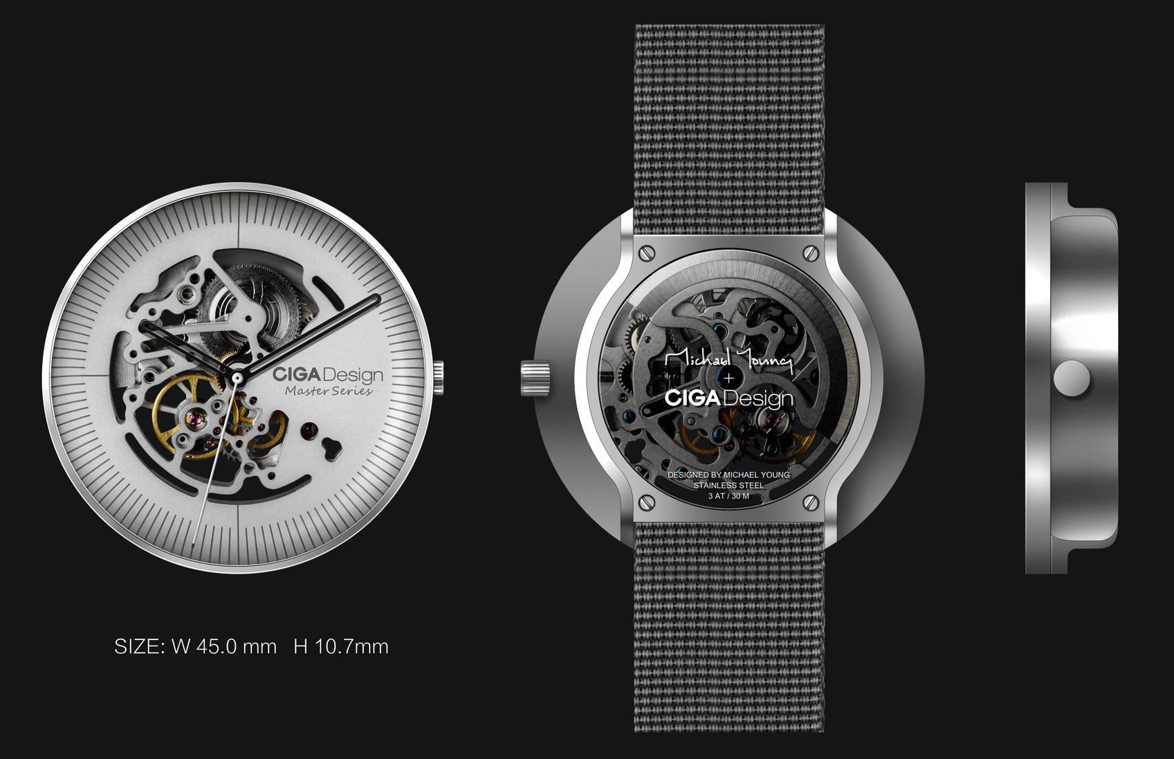 Ciga Design Mechanical Watch diseño