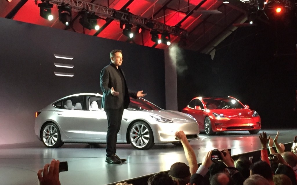 Elon Musk model 3 pedidos