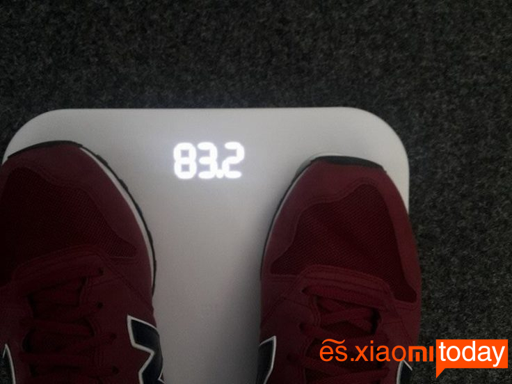Xiaomi Mi Smart Scale 2 Análisis - Diseño