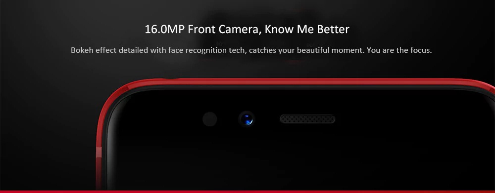 Lenovo S5 cámara frontal