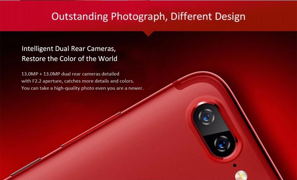 Lenovo S5 cámara principal