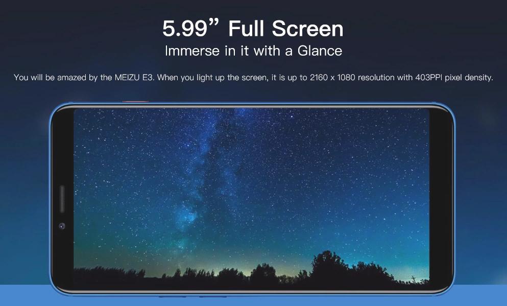 MEIZU E3 Monitor