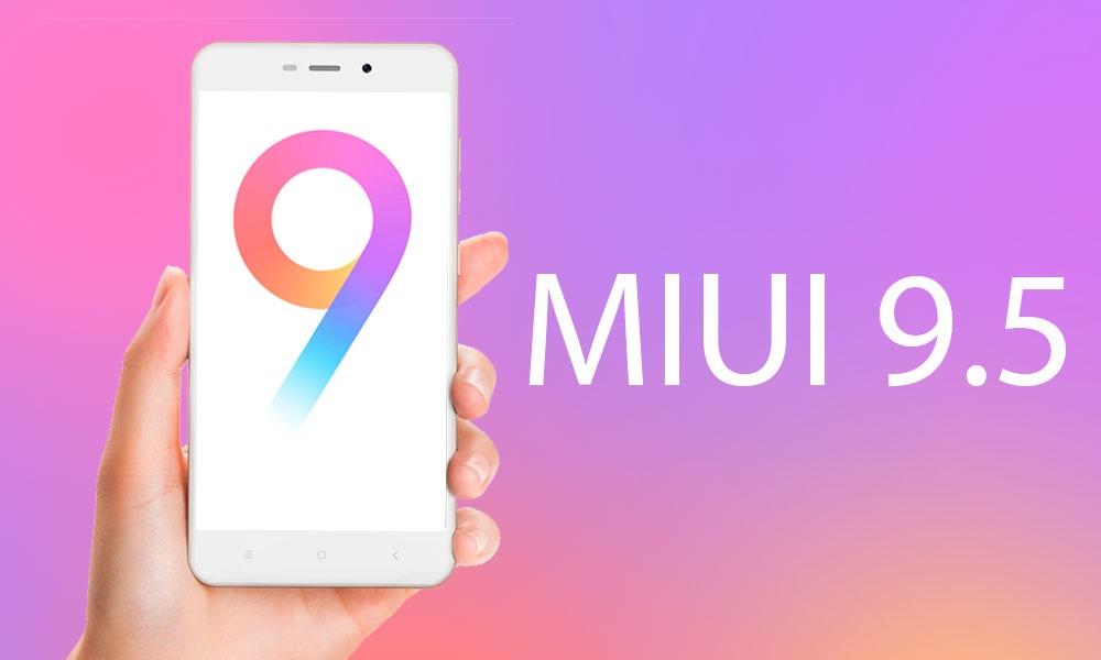 MIUI versión 9.5
