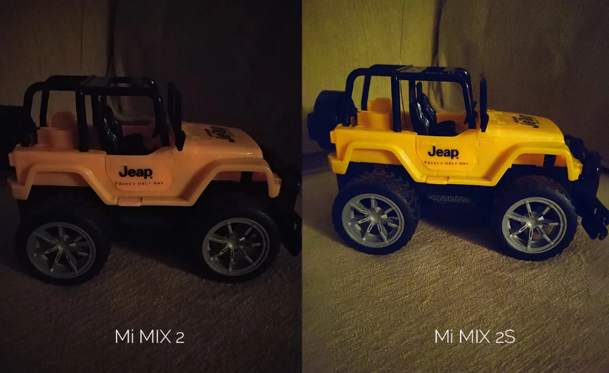 Mi Mix 2 vs Mi MIX 2S Imagen comparativa