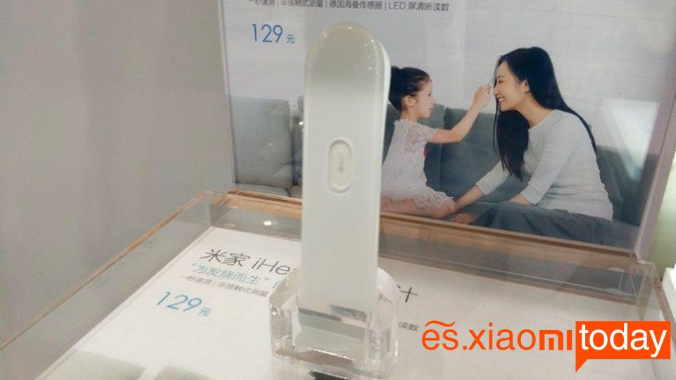 Xiaomi iHealth Thermometer Análisis - Termómetro infrarrojo