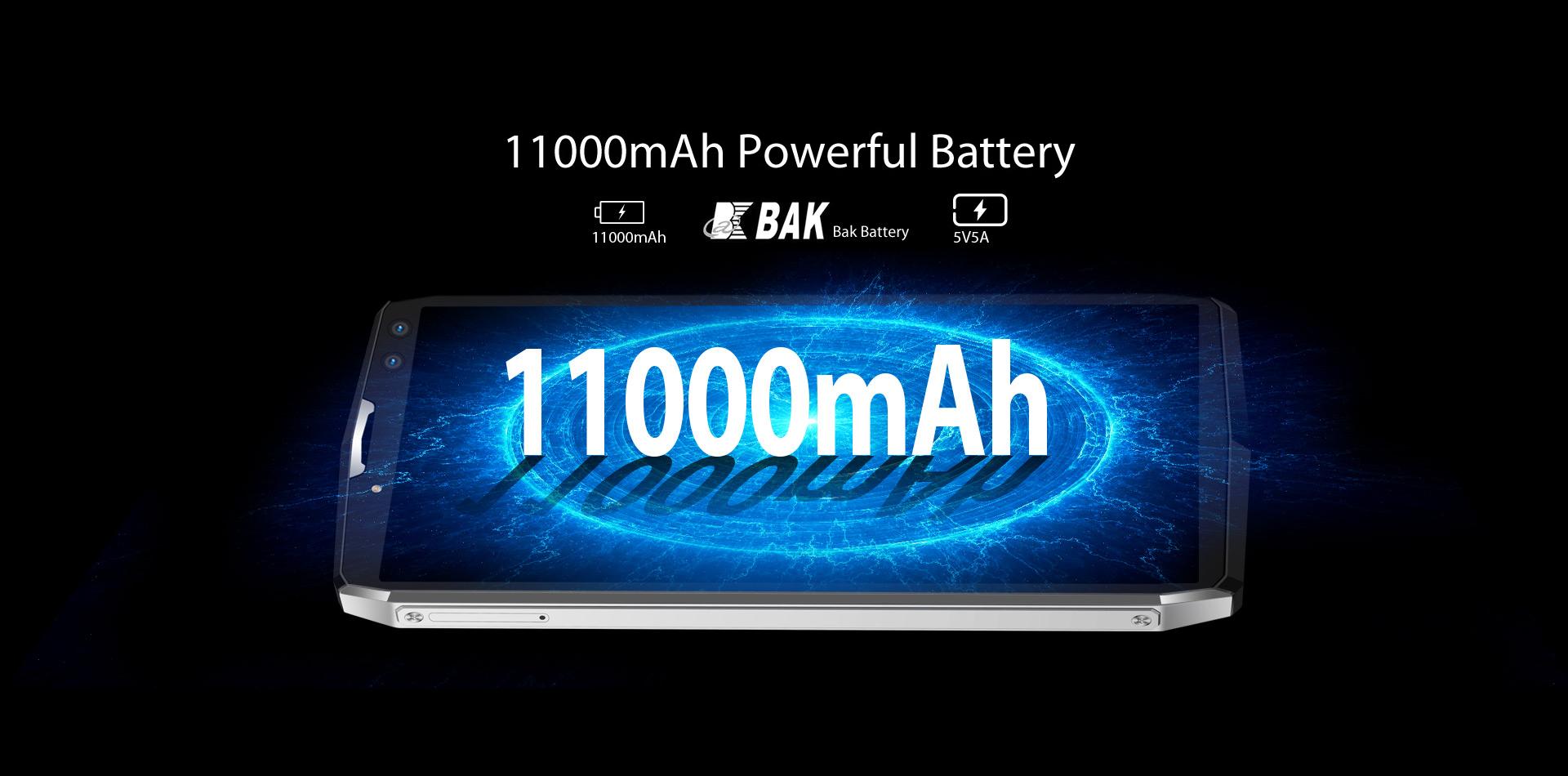 Blackview P10000 Pro: Prueba de duración de batería