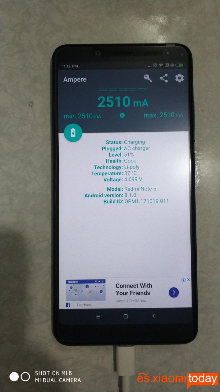 Redmi Note 5 Versión China Rendimiento