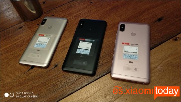 Redmi Note 5 Versión China Etiqueta