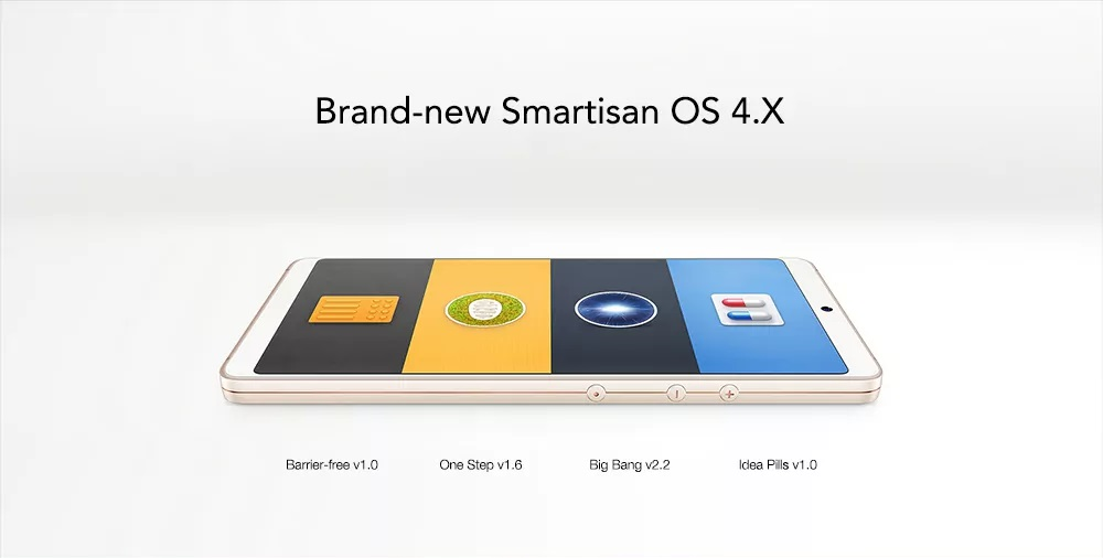 Smartisan Nut Pro 2 - Software