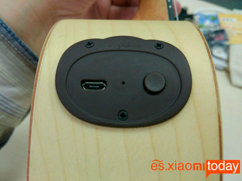 Xiami Populele Análisis - Batería