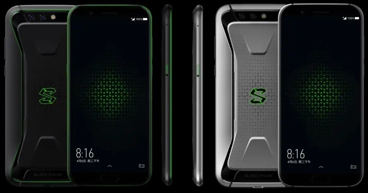 Xiaomi BlackShark Gaming Phone - Diseño