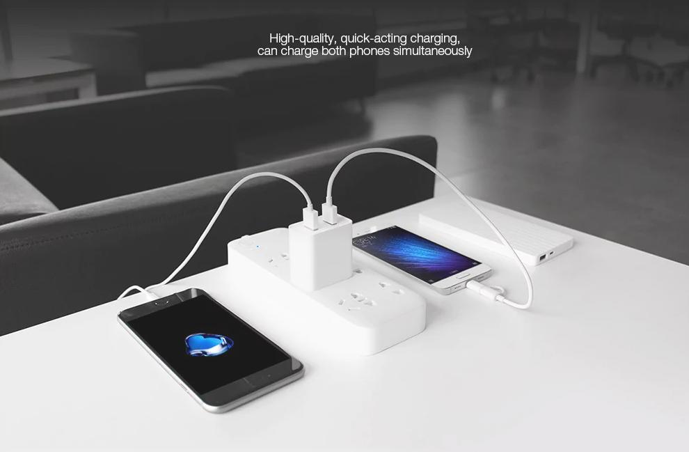 Xiaomi Dual USB Funcionamiento