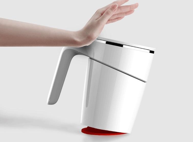 Xiaomi Fiu Elegant Cup 470ml - Ventosa antiderrame