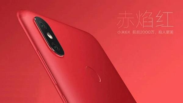 Pósteres y videos oficiales del Xiaomi Mi 6X