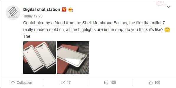 Película de vidrio templado filtrada del Xiaomi Mi 7