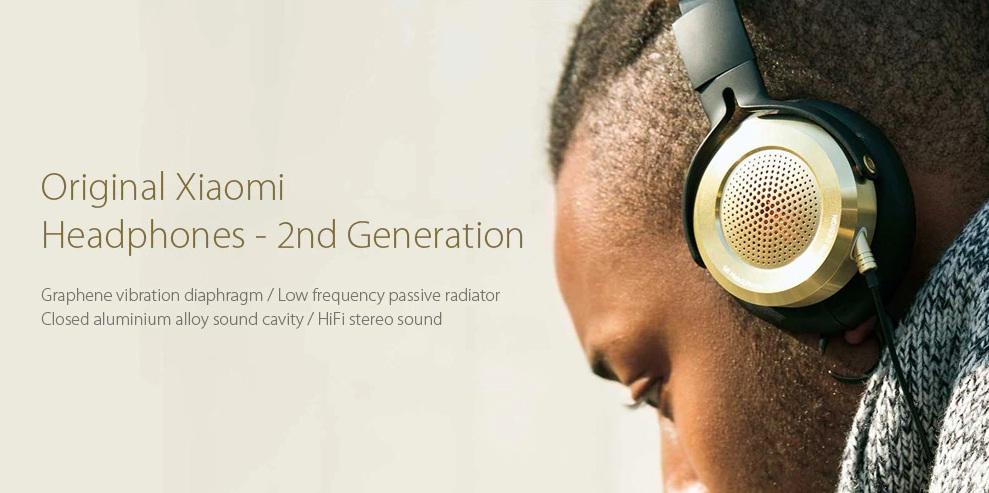 Xiaomi Mi Headphones - 2da generación introducción