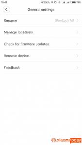 Xiaomi Mijia Sherlock M1