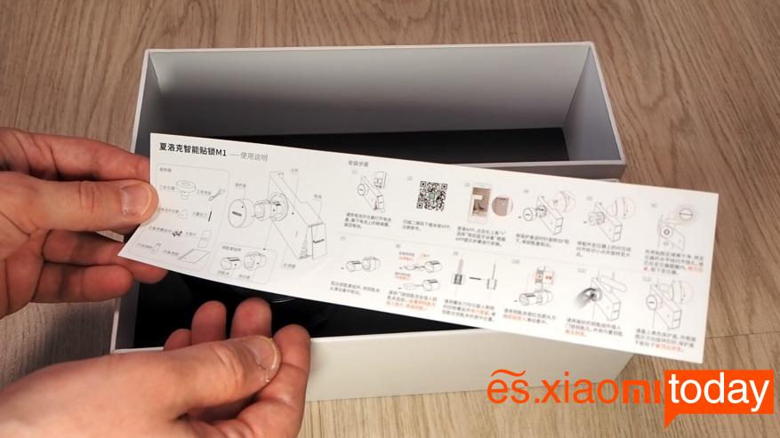 Xiaomi Mijia Sherlock M1 - Paquete