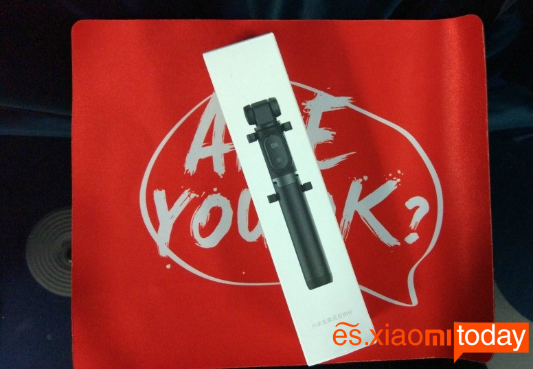 Xiaomi Selfie Stick Tripod caja