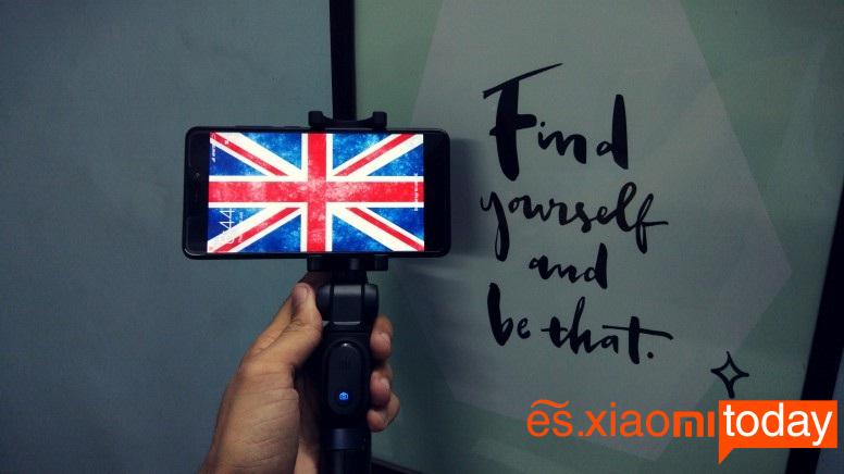 Xiaomi Selfie Stick Tripod sincronización