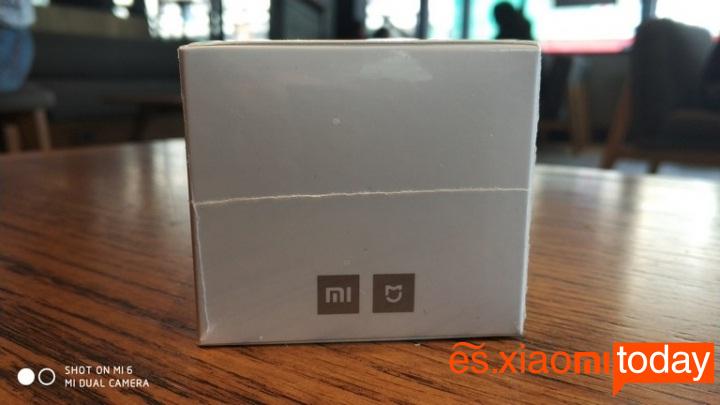 Xiaomi mijia Smart socket caja lateral izquierdo