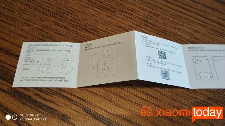 Xiaomi mijia Smart socket manual para el usuario